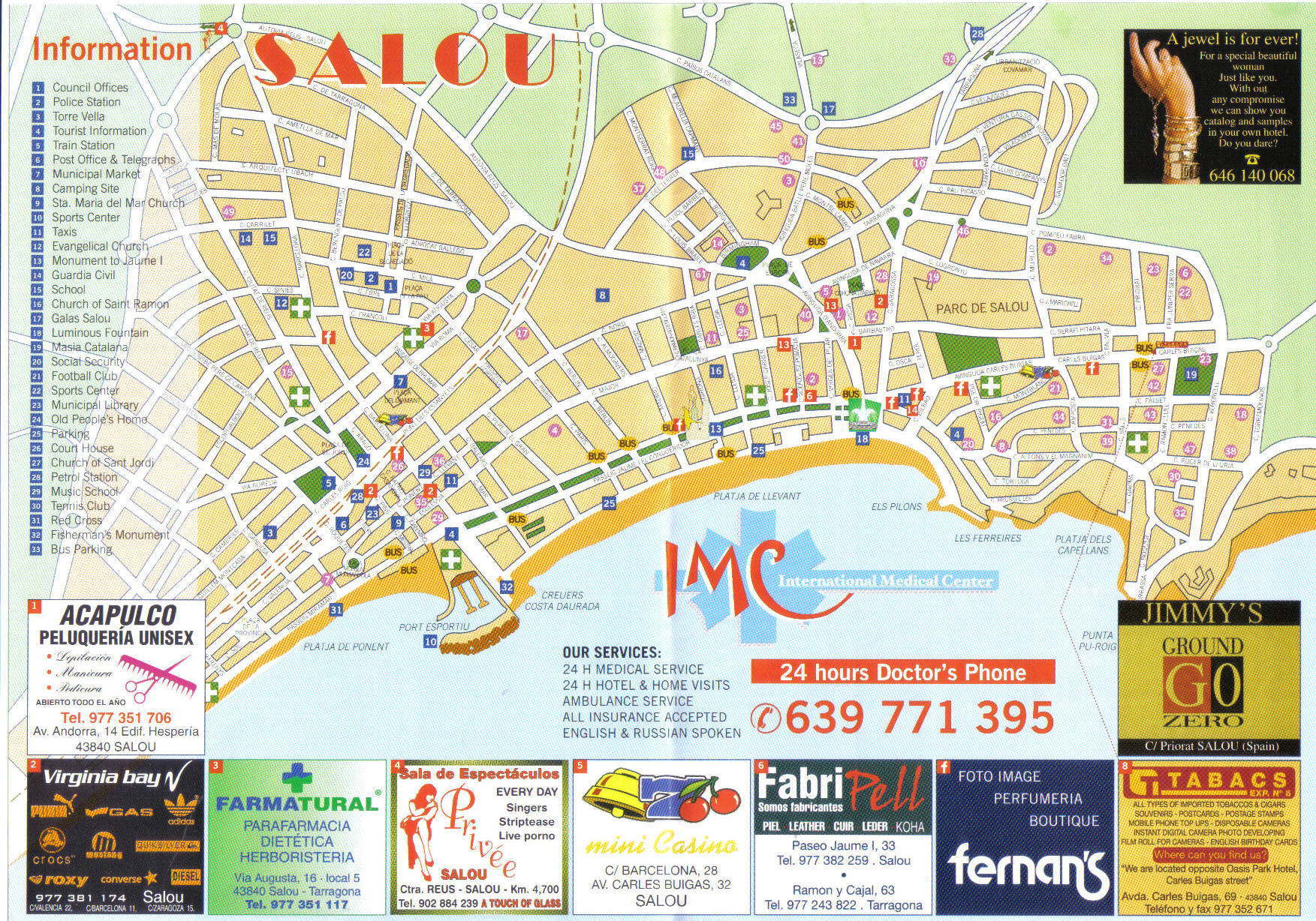 Map Of Spain Showing Salou.Salou Spain Pictures And Videos And News Citiestips Com